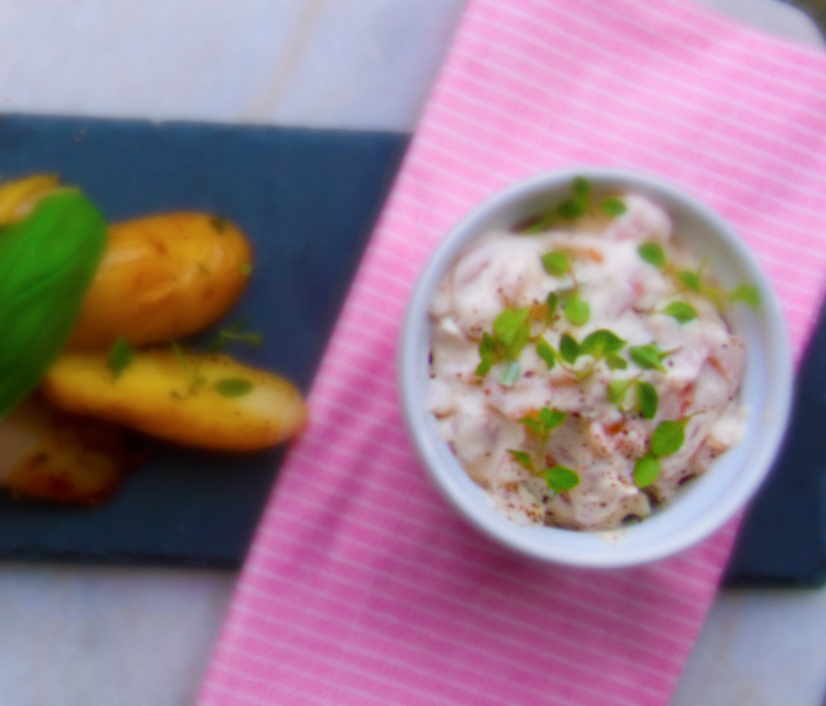 Smoked Salmon Spread With Horseradish And Fresh Thyme