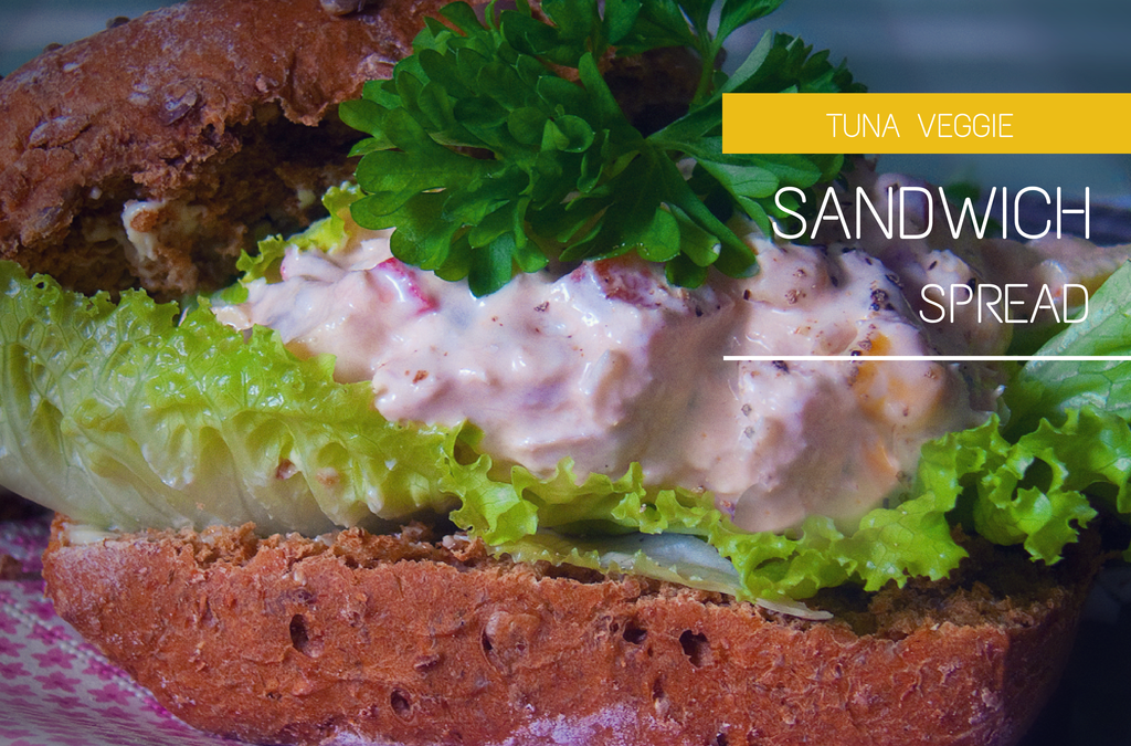 Tuna Veggie Sandwich Spread