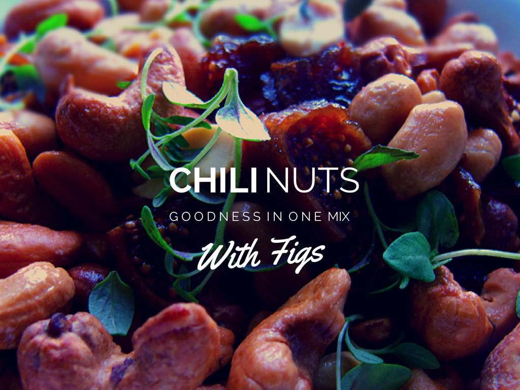 Chili Nuts With Figs